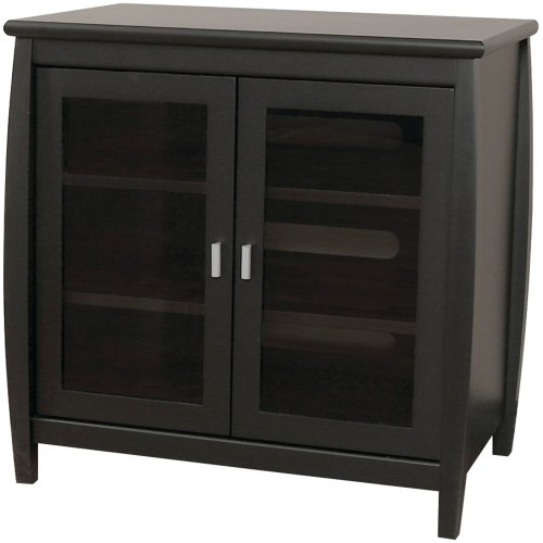 TechCraft SWD30B 30-Inch Wide Flat Panel TV Hi-Boy - - Crafts Entertainment Credenza