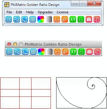 Amazon Com Phimatrix Golden Ratio Design Software For Windows And Mac Image Design Composition And Analysis Software Make Great Composition Decisions Quickly And Simply Overlays Any Other Software Or Image Great Compliment To