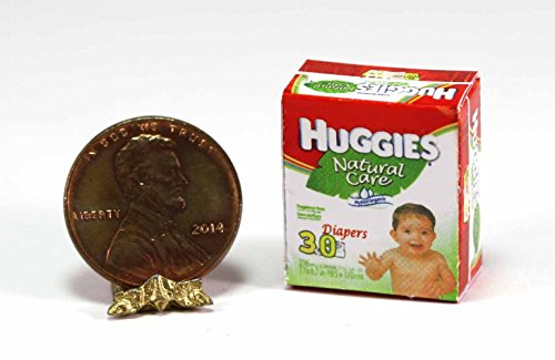 Dollhouse Miniature Baby Diapers by Cindi039;s Mini039;s