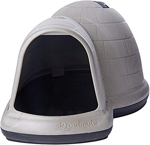 Petmate Indigo Dog House All-Weather Protection Taupe/Black for sale  Delivered anywhere in USA