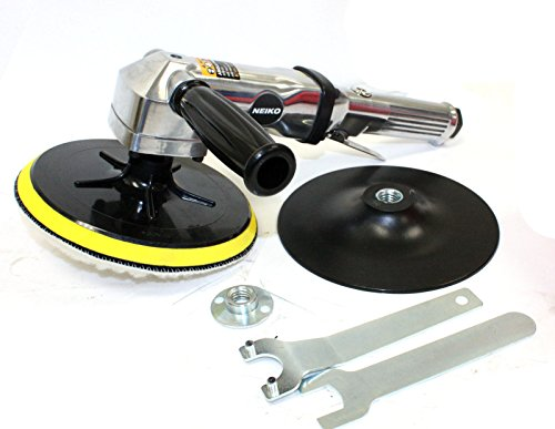 M2 Outlet 7'' Stainless Pneumatic Variable Speed 1,500-2,600 RPM Air Angle Polisher Buffer by M2 Outlet (Image #3)
