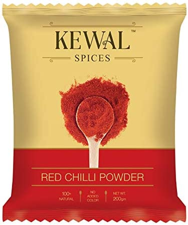 Kewal Red Chilli Powder Pouch, 200g