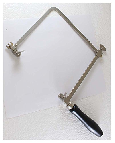 ToolUSA 6-Inch Adjustable Jeweler's Saw Frame with Black Wooden Handle: TJ-93896 by ToolUSA (Image #1)