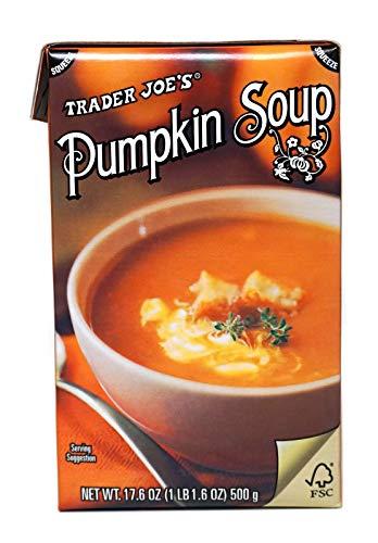 Trader Joe's Ready to Use Creamy Pumpkin Soup - 17.6 oz.