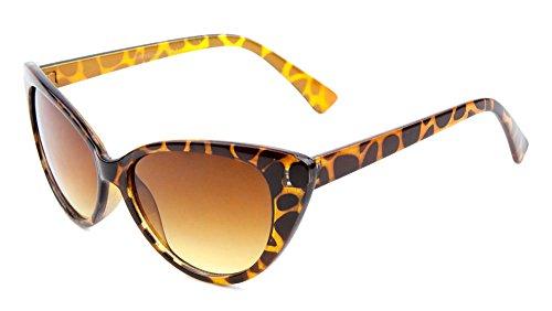 50's Women's OG Classic Cat Eye Sunglasses (Tortoise, 55)]()