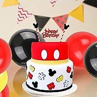 Decoraciones de cumpleaños de Mickey Mouse, bolas de nido de abeja ...