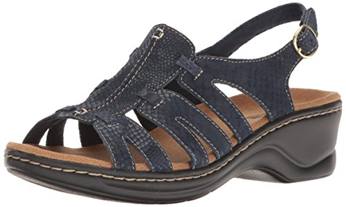 CLARKS Marigold Q Navy Narrative Lexi Women's qAanxqwPp