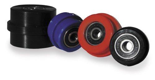 TM Designworks PowerLip Race Roller - Black - KFX/LTZ400 LOWER, BANSHEE L/U - PLR-513-BK by T.M. Designworks