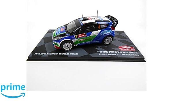 Générique Ford Fiesta RS WRC 2012 5th Solberg 1/43 Ixo (BR4): Amazon.es: Juguetes y juegos