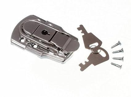 Cierres con llave para maleta (6 unidades, 72 x 45 mm, 2 llaves