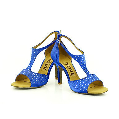 baile mujer de para Zapatillas azul CUHPwvnBxq