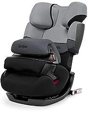 Cybex - Silla de coche grupo 1/2/3 Pallas-Fix, silla de coche 2 en 1 para niños, para coches con y sin ISOFIX, 9-36 kg, desde los 9 meses hasta los 12 años aprox.Cobblestone