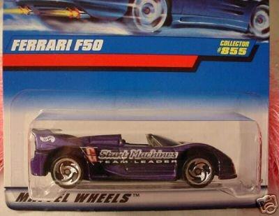 Mattel Hot Wheels 1998 1:64 Scale Purple Ferrari F50 Die Cast Car Collector ()