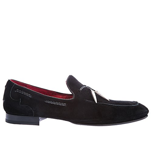 Jeffery West Martini Mocassino Scamosciato K096 Nero