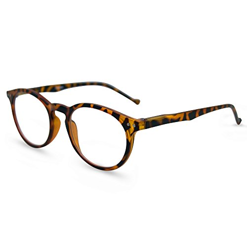 In Style Eyes Flexible Readers, Super Comfortable Lightweight Reading Glasses/Tortoise - Designer Glasses Affordable