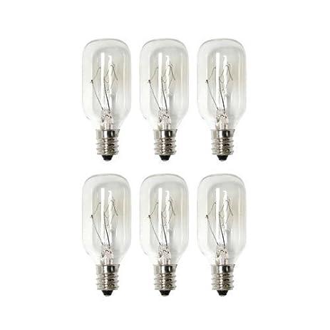 15 Watt Salt Lamp Bulb (Night Light) - 6 pack (6) - - Amazon.com