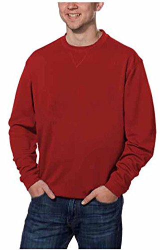 Pebble Beach Mens Performance Golf Pullover Shirt (Small, Red) (Pebble Beach Sweater)