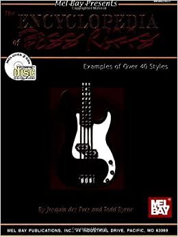 Encyclopedia of Bass Riffs by Des Pres, Josquin (2003)