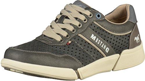 Hommes Mustang 4122-301-259 Gris Sneaker