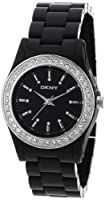 DKNY Black Plastic Ladies Watch NY8146 by DKNY