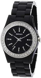 DKNY Black Plastic Ladies Watch NY8146 by DKNY