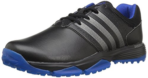 Adidas Men's 360 Traxion WD Cblack/Dks Golf Shoe - Black ...