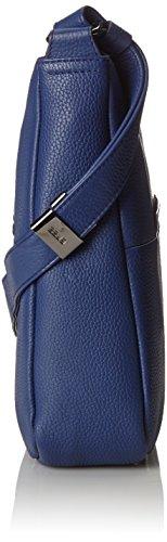 Bree Faro 3, Holunder, Cross Shoulder L W15, Borsa A Tracolla da Donna Blu (Blue)