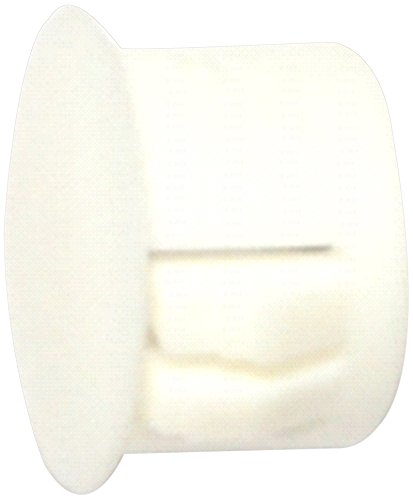 Hard-to-Find Fastener 014973169725 White Hole Plug, 1/2-Inch