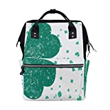Diaper Bags Four Leaf Clover Lucky Fashion Mummy Backpack Multi Functions Large Capacity