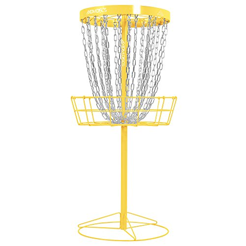 Axiom Discs Pro 24-Chain Disc Golf Basket - Yellow