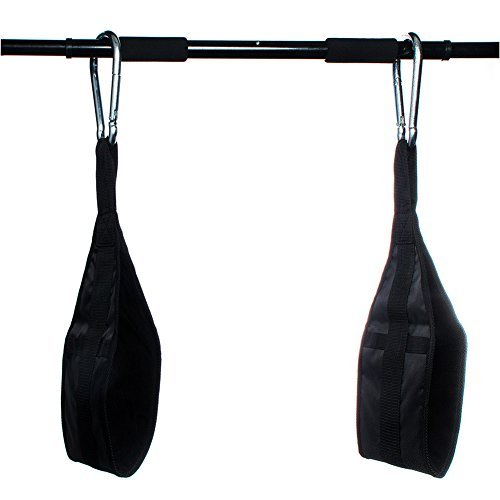 (1UP Hanging AB Straps for Fitness, Core Pull Up Strap Body Workout)