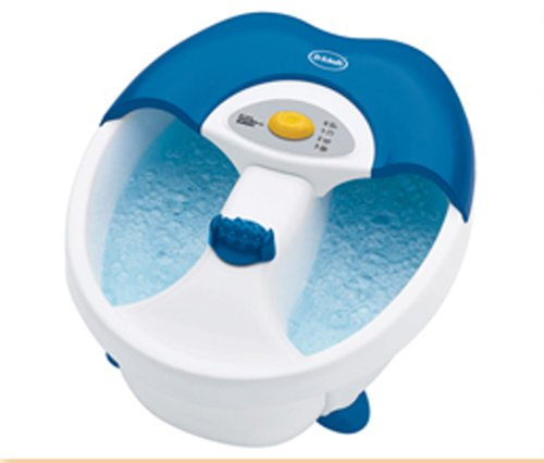 Dr. Scholl's DR6624 Toe-Touch Foot Spa with Bubbles and Massage