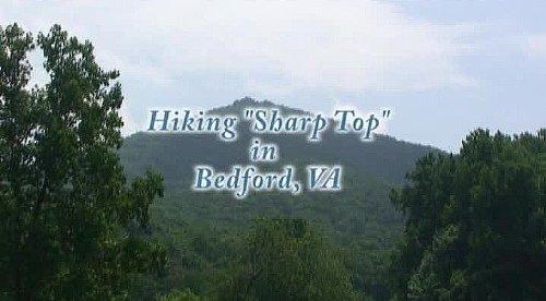 Sharp Widescreen Tvs - Virtual Hiking on Sharp Top Mountain, Va. Exercise DVD
