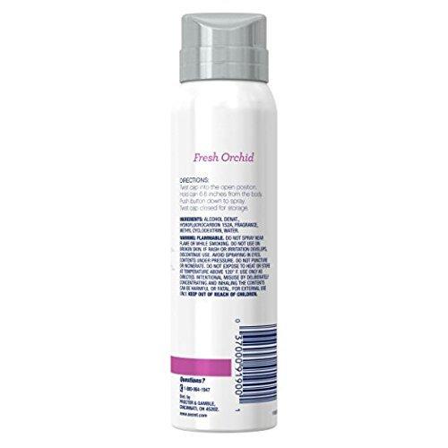 Secret Destinations Bora Bora Fresh Orchid Women's Body Spray, 3.75 Ounce (Pack of 3)