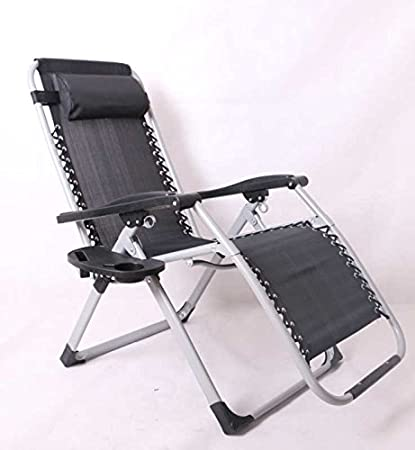 Rich Time Oversized XL Extra Wide Seat (22.5u0026quot;) Zero Gravity Chair  Recliner Patio