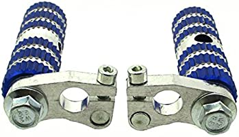 stoneder aluminio azul Racing footpegs reposapiés Pegs para más ...