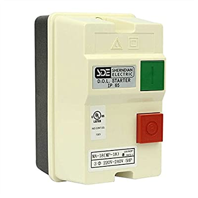 Big Horn 18835 3-Phase, 220-240-Volt, 5-HP,12-18-Amp Magnetic Switch