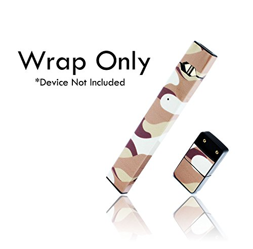Custom Skin Decal for Pax JUUL (Decal Only, Device is Not Included) - Vinyl Wrap Protective Sticker by VCG Customs (Desert Camo)