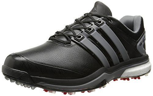 quality design 8e98e af80d Adidas Men s Adipower Boost Golf Shoe, Core Black Iron Metallic Core Black,