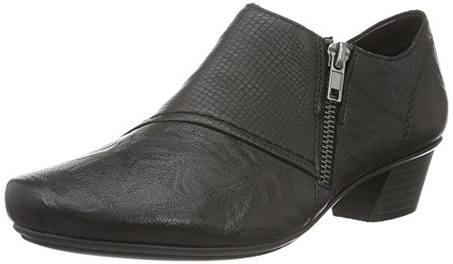 Rieker 53851, WoMen Loafers Black (Black/Black)