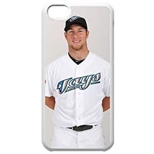 MLB Iphone 5C White Toronto Blue Jays cell phone cases&Gift Holiday&Christmas Gifts NBGH6C9126190