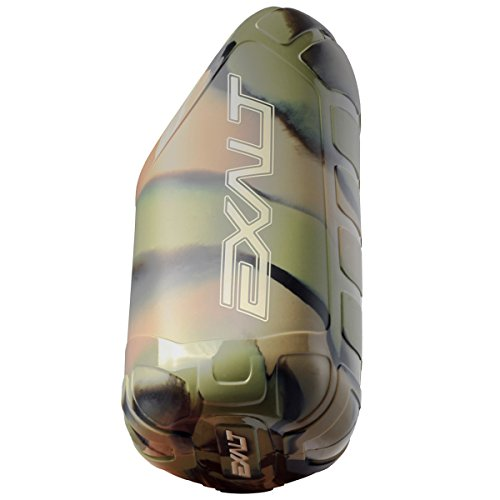 Exalt Paintball Tank Cover - Steel/Aluminum - 47/48 ci - Jungle Camo