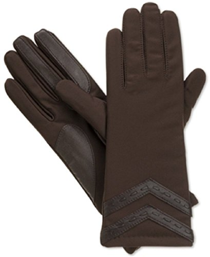 Womens Signature Glove (Isotoner Signature Thinsulate SmarTouch Tech Gloves in Brown (Large / X-Large))