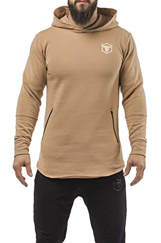 Iron Bull Strength - Pullover Hoodie - Classic Zip - for Gym Workout Sports Bodybuilding Fitness Training