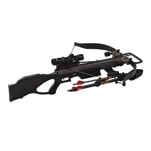 Excalibur Matrix 380 Crossbow Package, Blackout, 260-Pound