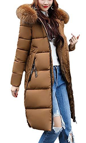 manteau bas d'extérieur mode capuche taille vestes d'hiver produit manches Plus femme Manteaux veste fourrure haute belle épaisses de en à vrac kaki et longue chaude vêtements Sw8tqtF1