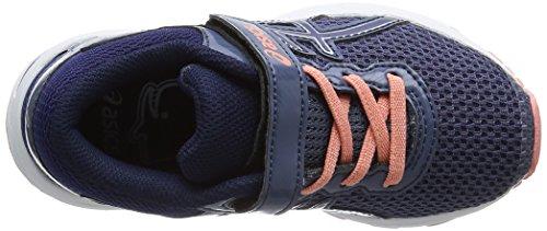 Asics Gt-1000 6 PS, Zapatillas de Running Para Niños Azul (Smoke Blue/indigo Blue/begonia Pink 5649)