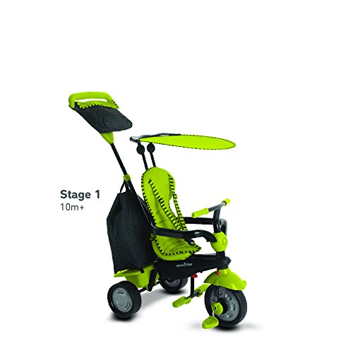 smarTrike Glow 4 in 1 Baby Tricycle Green