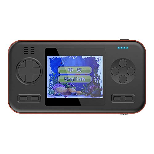 (Handheld Game Console with Built-in 416 Classical Games, Portable Arcade Gamer with 8000mAh Battery - Retro Style - Dual USB - Power Bank Function)