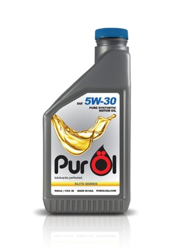 UPC 857297004019, PurOl Elite Synthetic Motor Oil 5w30 1-liter Bottle